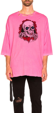 Unravel for FWRD Oversized Boxy Tee in Pink,Neon.