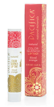 Pacifica Blood Orange Color Quench by 0.15oz Lip Balm)