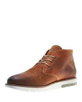 Wolverine Gibson Lugged-Sole Chukka Boot, Amber