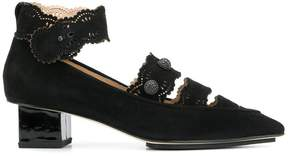 Castelo pumps - Black Rue St.