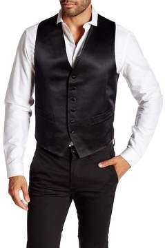 Robert Talbott Satin 6 Button Silk Waistcoat