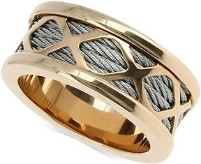 Charriol Womens Two-Tone Multi-x Cable Ring
