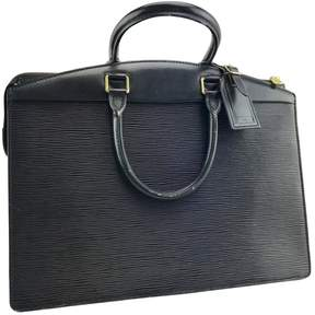 Louis Vuitton Kourad leather satchel