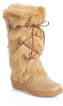 Pajar Women's Davos Genuine Goat Fur Boot