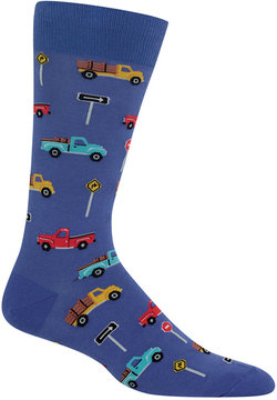 Hot Sox Men's Pick-Up Truck Socks