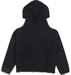 RtA Juno Cutout Grommet Hooded Sweatshirt (Women's)