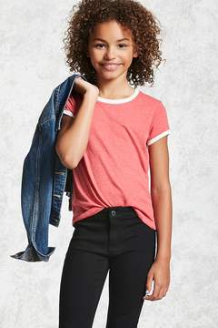 Forever 21 Girls Ringer Tee (Kids)