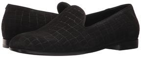 Giorgio Armani Tortoise Embossed Loafer Men's Slip on Shoes