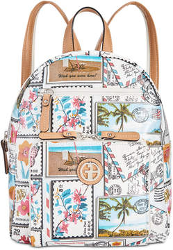 Giani Bernini Coated Canvas Backpack, Created for Macy's
