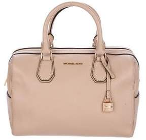 MICHAEL Michael Kors Grained Leather Satchel