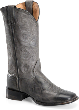 Sonora Charcoal Ava Leather Cowboy Boot