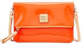 Dooney & Bourke Patent Foldover Zip Crossbody Shoulder Bag - CLEMENTINE - STYLE