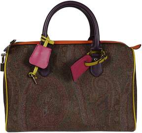 Etro Paisley Print Boston Tote