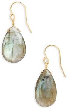 Chan Luu Women's Semiprecious Pear Drop Earrings