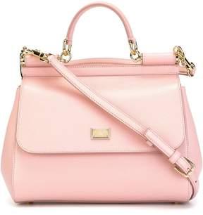 Dolce & Gabbana medium Sicily shoulder bag - PINK & PURPLE - STYLE