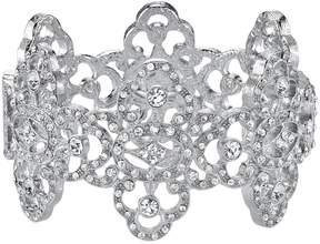 1928 Crystal Quatrefoil Bracelet
