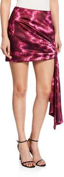 Cinq A Sept Ryder Side-Tie Mini Skirt