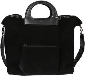 Max Mara Structured Top Handle Tote