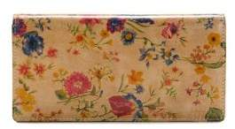 Patricia Nash Floriana Prairie Rose Leather Continental Wallet