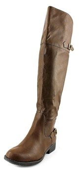 American Rag Aada Wide Calf Women Round Toe Synthetic Brown Over The Knee Boot.