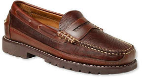 L.L. Bean Men's Allagash Bison Handsewns, Penny Loafers