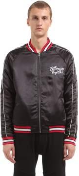 Billionaire Boys Club Reversible Embroidered Bomber Jacket