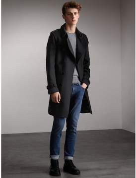 Burberry Cashmere Wool Trench Coat