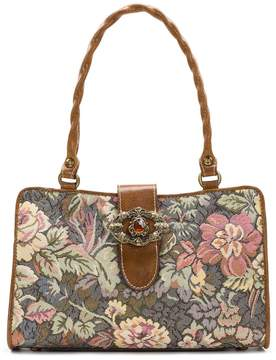 Patricia Nash Tapestry Collection Rienzo Colorblock Satchel