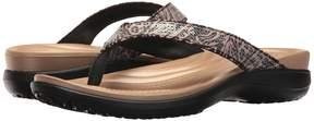 Crocs Capri V Graphic Sequin Flip Women's Shoes