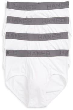 Hanes Men's Luxury Essentials 4-Pack Briefs