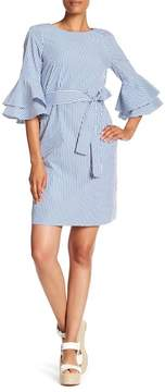 Nine West Ruffle Belle Sleeve Dress