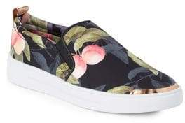 Ted Baker Tancey Floral Slip-On Sneakers