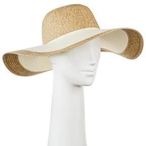 Merona Women's Floppy Straw Hat Tan