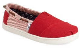 Toms Toddler 'Bimini' Print Slip-On