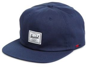 Herschel Men's 'Albert' Cotton Baseball Cap - Blue