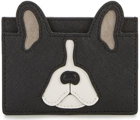 Kate Spade Ma Cherie Antoine French Bulldog Applique Card Holder - MULTI - STYLE