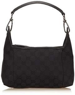 Gucci Pre-owned: Guccissima Jacquard Handbag. - BLACK - STYLE