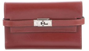 Hermes Kelly Medium Wallet - RED - STYLE