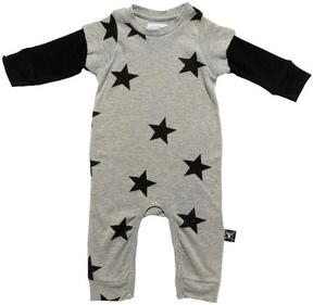 Nununu Stars Playsuit in Heather Grey