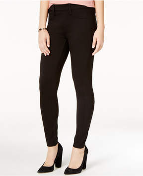 Celebrity Pink Juniors' Mesh Illusion-Contrast Skinny Pants