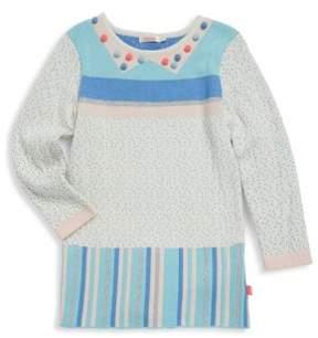 Billieblush Little Girl's & Girl's Jacquard Dress