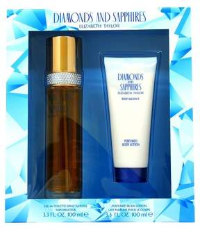 Elizabeth Taylor Diamonds and Sapphires by Women's Fragrance Gift Set - 2pc