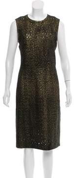 Bottega Veneta Cutout Wool Dress