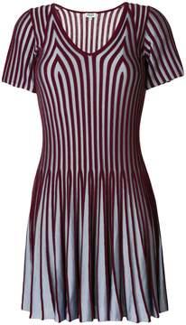 Kenzo striped flared dress