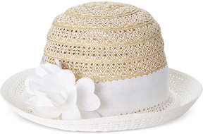Nine West Packable Floral Cloche Hat