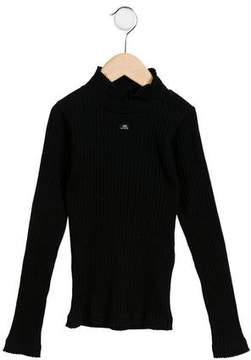 Lili Gaufrette Girls' Ribbed Long Sleeve Sweater w/ Tags