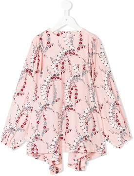 Fendi floral print blouse
