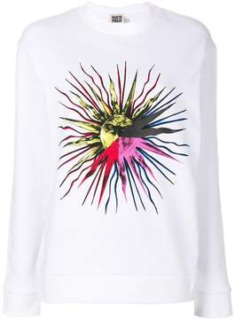 Fausto Puglisi front printed sweatshirt
