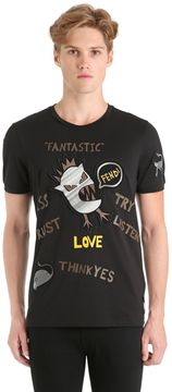 Words & Monsters Patches Jersey T-Shirt