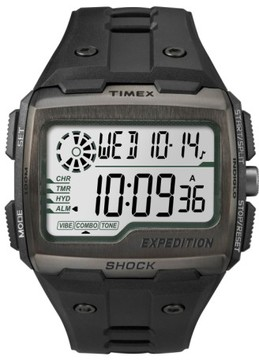 Timex Men's Resin Digital Watch, 50Mm